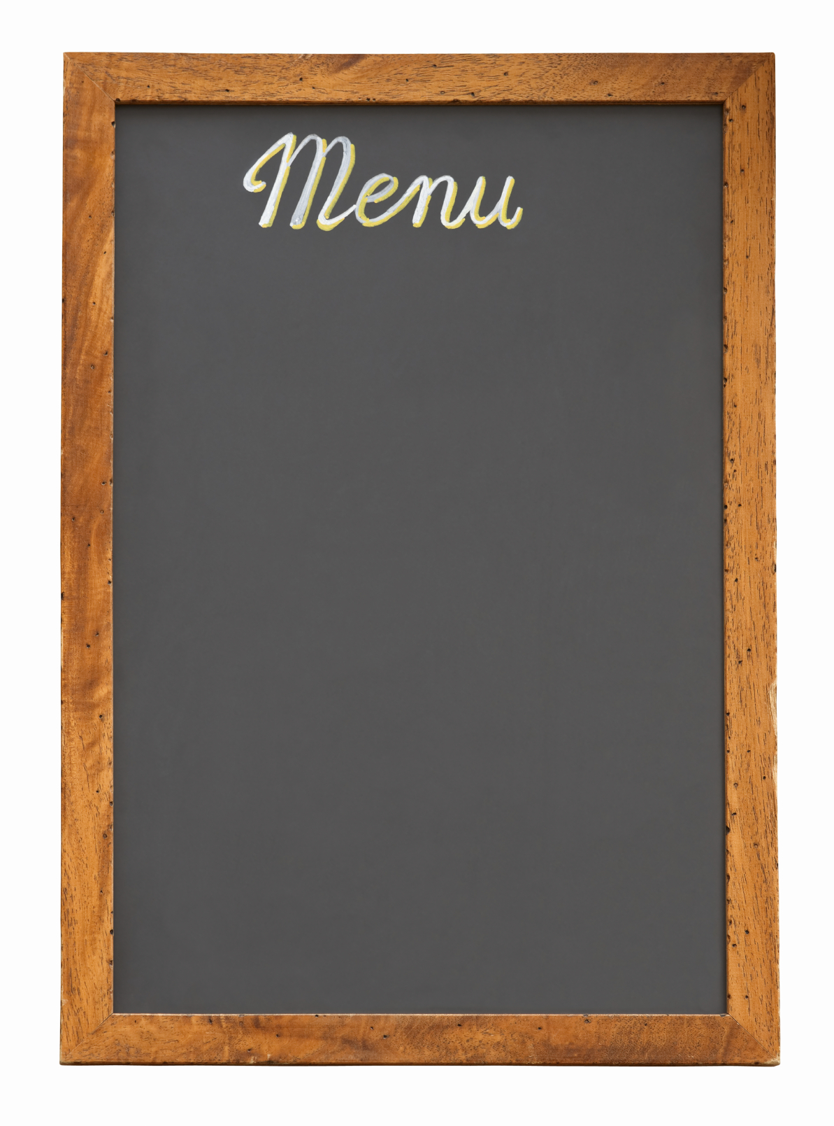 Blank Chalkboard Menu | www.imgkid.com - The Image Kid Has It!