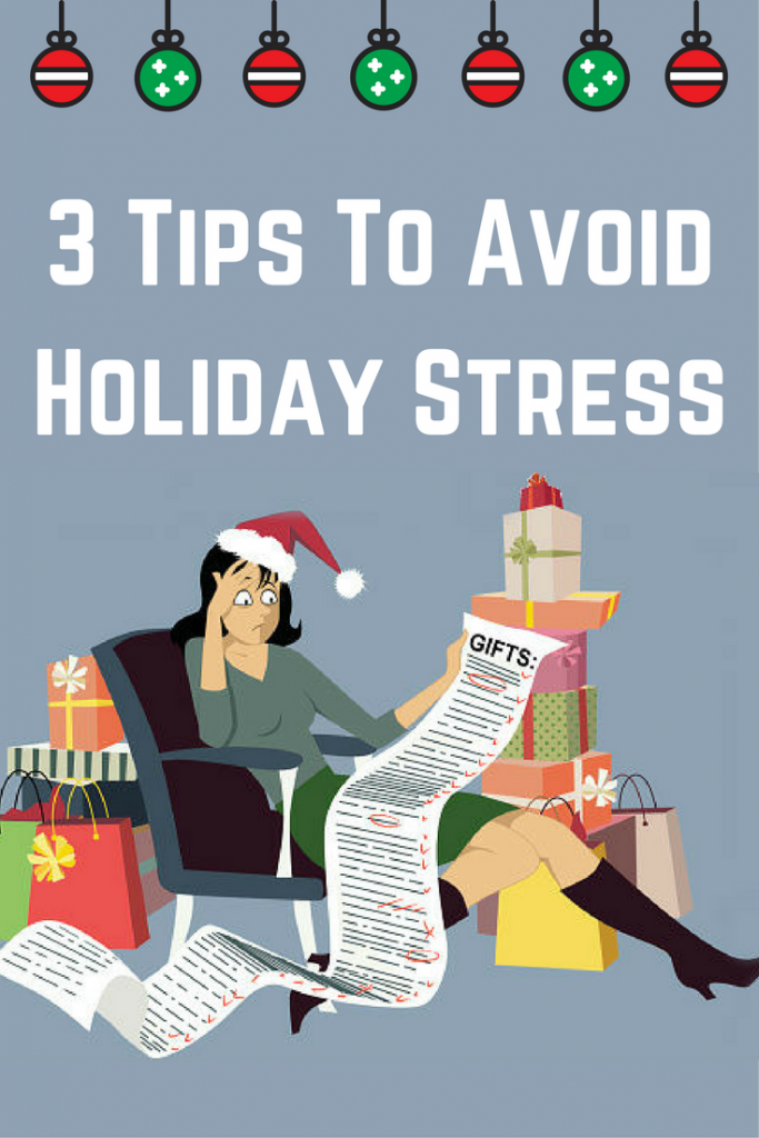 Be Mindful of Holiday Stress